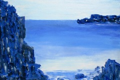 Kobolt blå / Grå
